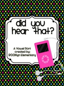 MP3 Vowel Sort