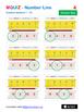 MQUIZ - Number Line - Numbers between 1 and 10