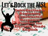 MSL Introduction and Constructed Response Practice for Eng