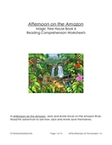 MTH06 Afternoon on the Amazon Reading Comprehension Worksheets