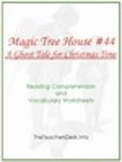 MTH44 A Ghost Tale for Christmas Time Read. Comp. & Vocab. WS