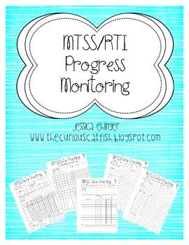 MTSS/RTI Progress Monitoring Forms
