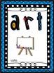 MULTIPLE - Book & Binder Covers - Blue Frame