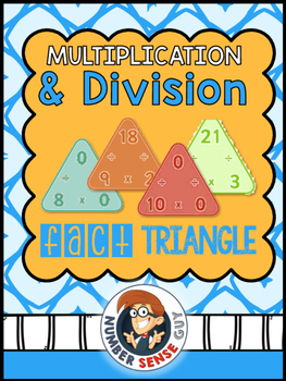 MULTIPLICATION AND DIVISON FACT TRIANGLES