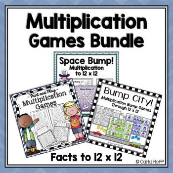 MULTIPLICATION GAMES & PRINTABLES BUNDLE