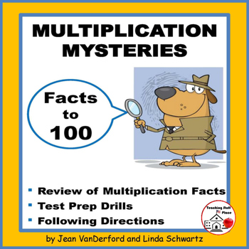 MULTIPLICATION MYSTERIES | Activities | Multiply to 100 |