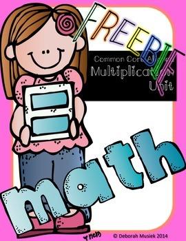 MULTIPLication Unit: Teaching Strategies of Multiplying FREEBIE