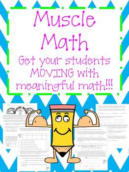 MUSCLE MATH- YOU MUST SEE THE FREE PREVIEW FILE!!!
