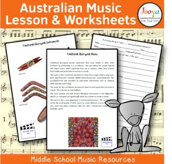 MUSIC- Australian Music Unit of Work