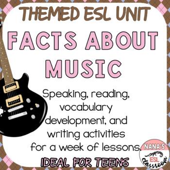 MUSIC [GENRE+HISTORY OF REGGAE] (ESL): Speaking, Reading a