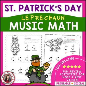 MUSIC: Leprechaun Music Math