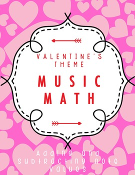 Music Math - Adding and Subtracting Note Values - Valentin