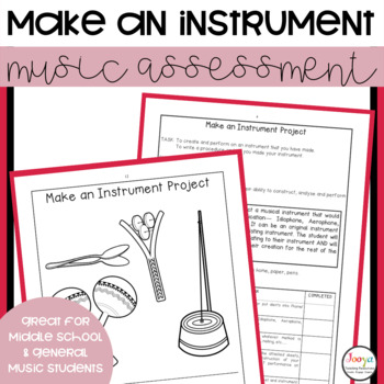 MUSIC: Middle School Make an Instrument Project