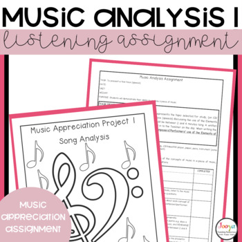 MUSIC: Music Analysis Assignment 1 - Listening, Research &