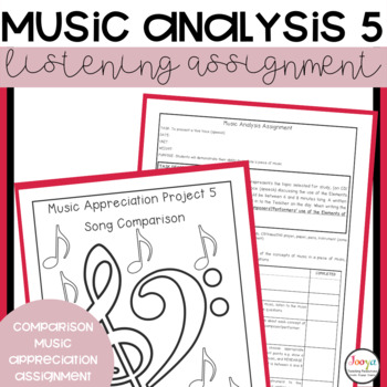 MUSIC: Music Analysis Assignment 5- Comparison Senior Version 2
