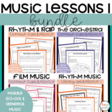 MUSIC: Music Bundle 1 - Three Units in One