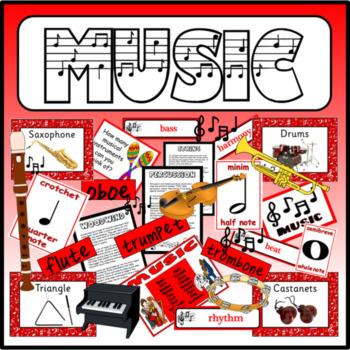 MUSIC -TEACHING RESOURCES RHYTHM RHYME DISPLAY EARLY YEARS