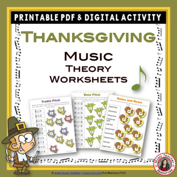 Thanksgiving Music Activities