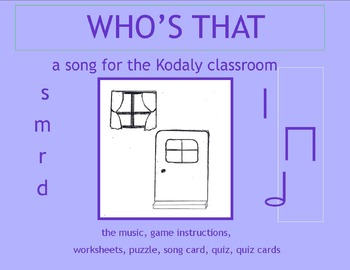 MUSIC: WHO's THAT TAPPING AT MY WINDOW? a song for the Kod