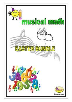 MUSICAL MATH EASTER BUNDLE