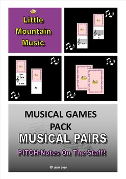 MUSICAL PAIRS GAME Pitch