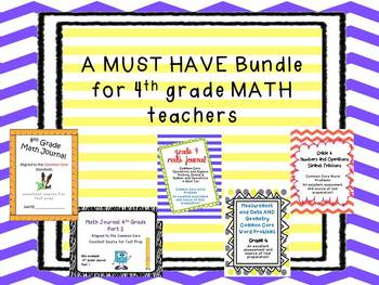 MUST HAVE mega pack for 4th grade MATH teachers