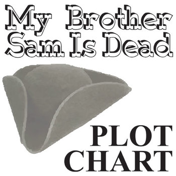 MY BROTHER SAM IS DEAD Plot Chart Organizer Diagram Arc -