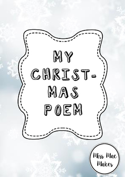 MY CHRISTMAS POEM