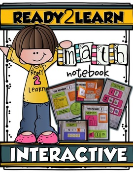 MY FIRST INTERACTIVE MATH NOTEBOOK {Ready2Learn}