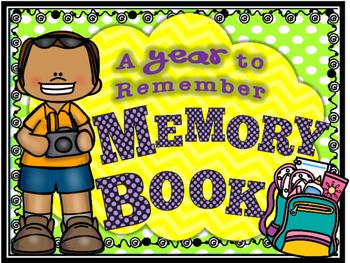 MY MEMORY BOOK (no prep!)