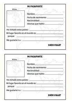MY PASSPORT (IN SPANISH)