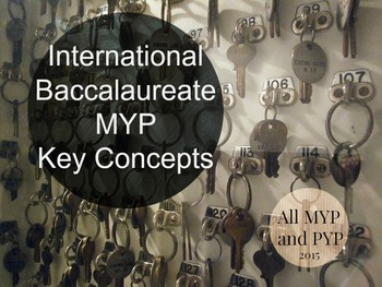 MYP Key Concepts 2015