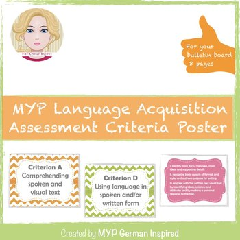 MYP language acquisition assessment criteria