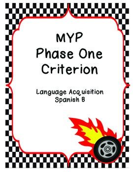 MYP/IB Phase 1 - Spanish Language