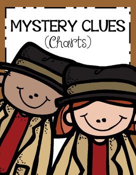 MYSTERY CLUES (Charts)