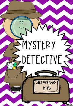 MYSTERY DETECTIVE - POWERPOINT LESSONS