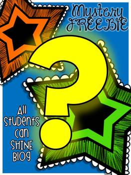 MYSTERY FREEBIE - All Students Can SHINE Blog Makeover