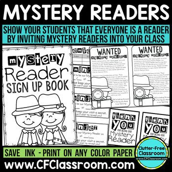 MYSTERY READER PRINTABLES | PARENT VOLUNTEER | MYSTERY REA