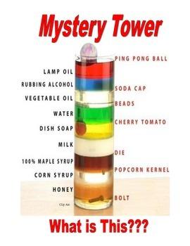 SALE . . . $8.50 . . . MYSTERY TOWER (density) and FUN FUN FUN
