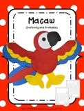 Macaw Craftivity Rainforest