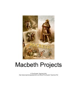Macbeth 11 Printable Projects
