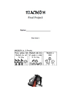 Macbeth Activity Booklet