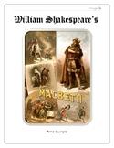 Macbeth Booklet Criteria