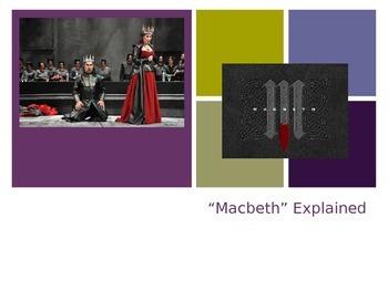 """Macbeth"" Explained PowerPoint Presentation"