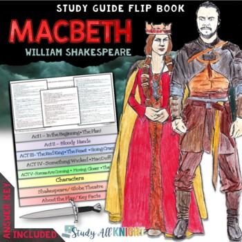 MACBETH: INTERACTIVE LAYERED FLIP BOOK READING LITERATURE GUIDE