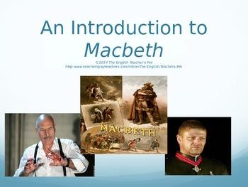 Macbeth Introduction PowerPoint