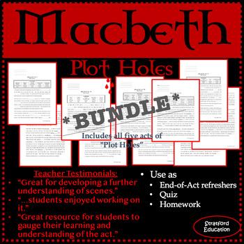 "Macbeth ""Plot Holes"""