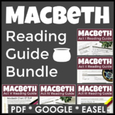 Macbeth Complete Reading Guides - 60 Pages of Highly Engag