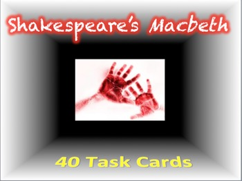 Macbeth Task Cards