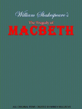Macbeth by William Shakespeare Study Unit